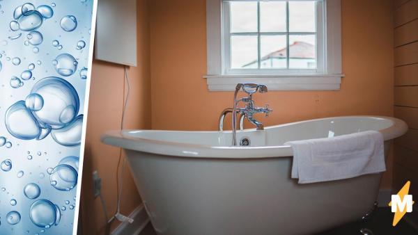 Релакс в ванной зашёл слишком далеко. Девушка застряла в пузырьках и вот, что бывает, если переборщить с пеной
