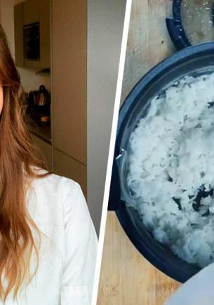 Шеф-повар раскрыла тайну идеально рассыпчатого риса на видео. Единственный, кто готовил верно, — Лео да Винчи
