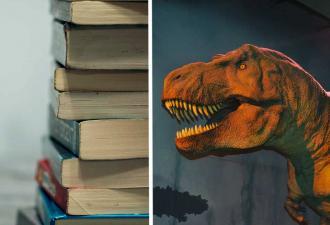 Ты не ты, когда все вымерли. В детской книге нашёлся динозавр-мем и ваше новое тотемное животное