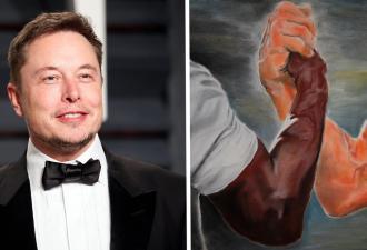 Гражданин Илон Маск, пройдёмте. Журналист обвинил бизнесмена в краже мема, и такое Интернет не прощает
