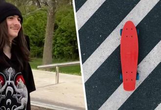 Блогер катается на скейте, и люди в восторге. Узнав, почему он делает это с тростью, вы тоже зааплодируете