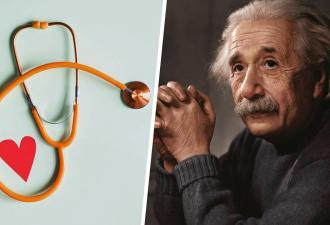 Паре позвонил Альберт Энштейн и сообщил о беременности жены. Нет, это не шутка, просто доктор — двойник физика