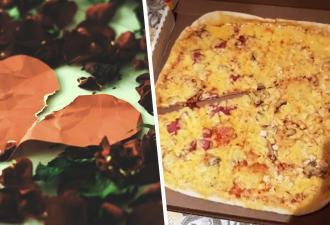 Бойфренд скинул подруге фото пиццы и попался на измене. И заметить деталь, которая его выдала, у вас не выйдет