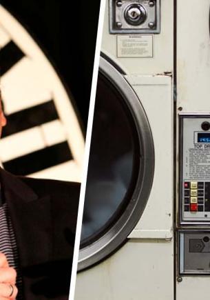 Стендапер закинул вещи в стиралку и чуть не поседел. Из барабана с ним пытался связаться призрак майора Тома