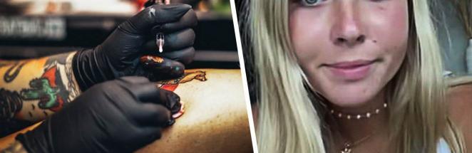 Блогерша набила нелепое тату во рту, думая, что оно исчезнет. Спустя три года она стесняется идти к дантисту