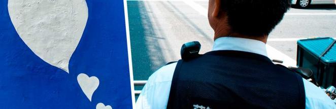У полицейских из Японии появилась новая начальница. Она виляет хвостом перед подчинёнными, ведь это — кошка