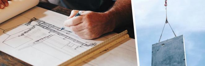 Клиент ждал, когда ему построят дом, и зря не следил за работой. Чтобы там жить, нужно поделить себя напополам