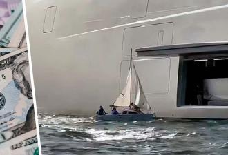 Папа взял и пошёл на абордаж яхты российского миллиардера. Но размеры его судна только рассмешили капитализм