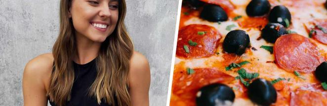 Блогерша похудела на 20 кило благодаря пицце и картошке фри. Есть условие, которое делает всю эту еду полезной