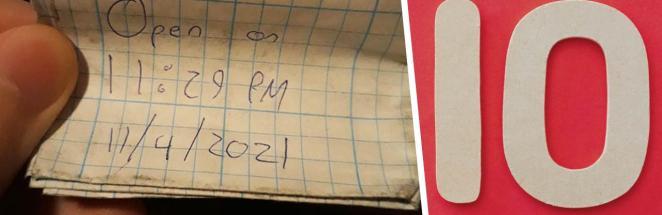 Парень ждал больше 10 лет, чтобы открыть записку от друга. Так он узнал истинную личину приятеля (троллью)