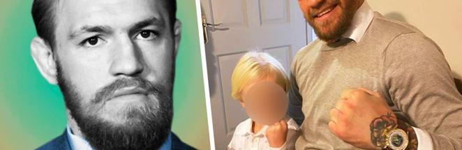 Конор Макгрегор дал сыну совет и стал худшим родителем года. Ведь фанаты не одобрили метод борца UFC