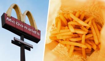 Работник «Макдоналдса» показал масло для картошки фри, и это хук по аппетиту. К такому людей жизнь не готовила