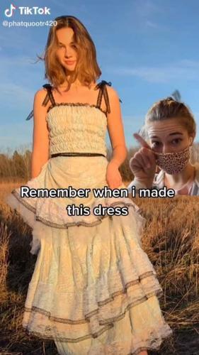 Фанатка сшила платье как у Гарри Стайлса и решила продать. Но зайдя на почту, она поняла, что бизнесу конец