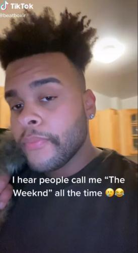 Блогер снялся на видео, и люди поняли, что Белла Хадид в него влюбится. Ведь он - идеальный двойник The Weeknd
