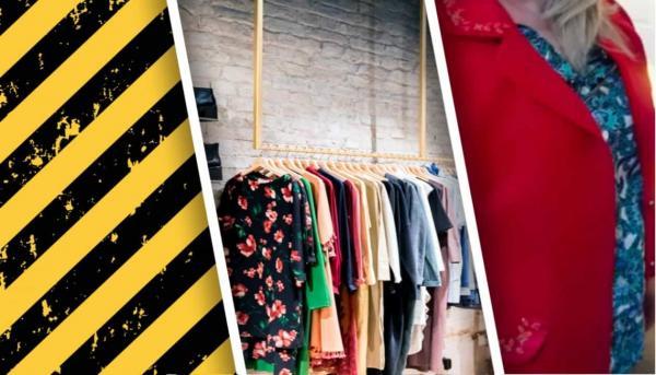 Почему не стоит покупать вещи в сэкондах. Модница нашла в кармане б/у пиджака аргумент, с которым не поспорить