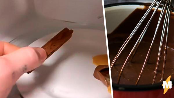 Вы знали, что не все шоколадки на самом деле таят? Кондитер провёл эксперимент, и у сладкоежек задёргался нерв