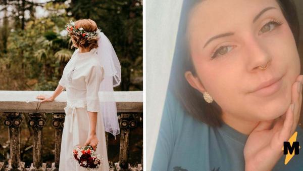 Покупательница заказала платье на свадьбу, но получила кошмар плавчихи. В таком наряде в церковь не войдёшь