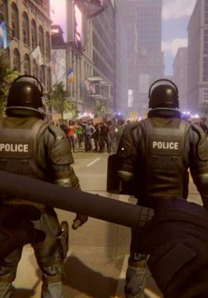 Симулятор Riot Control Simulator расстроил геймеров. Играть за копов, которые бьют протестующих, — не их мечта