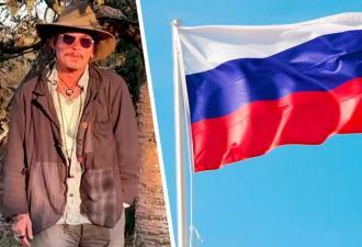Джонни Депп заговорил по-русски, и фаны — самые счастливые. В видео всего пара слов, но и они покоряют сердца