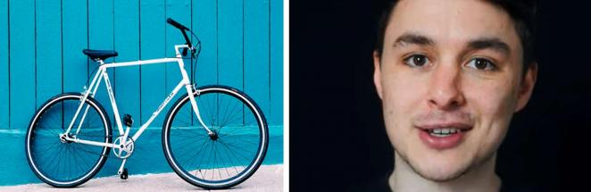 Блогер 30 дней ездил на велосипеде по два часа и не верит в итог. Его фото — повод достать колёса немедленно