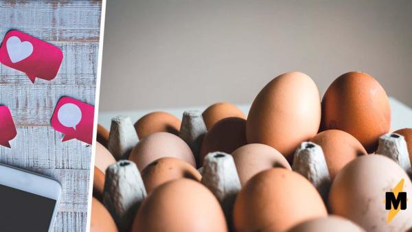 Курица удивила хозяйку, угостив её необычным яйцом. Она снесла природный киндер-сюрприз, но люди не верят