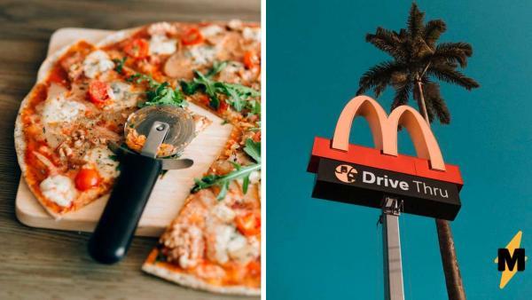 """Гурман показал пиццу из """"Макдоналдса"""", и слышно хруст (стереотипов). Королём фастфуда """"Биг Мак"""" был не всегда"""