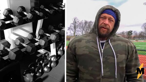 Американский бодибилдер выполнил тренировку русского спортсмена и сломался. Люди уверены - шансов и не было