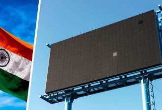 Политики Индии взяли и закосплеили «Три билборда» — но как. Их щиты живые и знают, что такое собачья жизнь