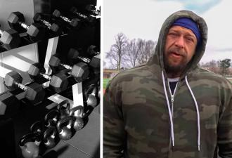 Бодибилдер из США повторил тренировку русского спортсмена и сломался. Он знает — в России живут супергерои