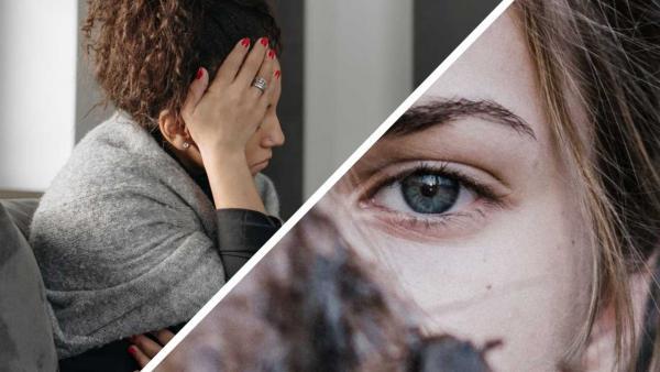 """Как мигрень влияет на глаза. Девушка увидела в зеркало свои глаза и поняла, что ей надо в фильм """"Особо опасен"""""""