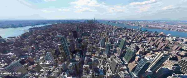 EarthCam показали самое большое фото Нью-Йорка. Самые наблюдательные увидели там сюрприз для зрителей постарше