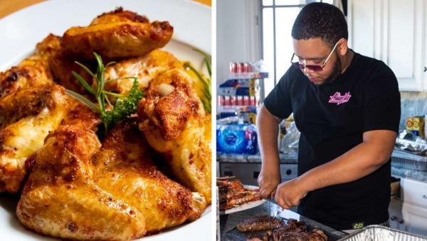 Повар заказал куриные крылышки, но боится их есть. Ведь размер блюда так и намекает - на кухню залетала синица