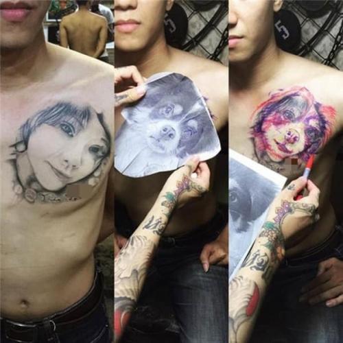 Подросток сделал тату в честь девушки, но она его бросила. Увидев, что он добавил к рисунку, вы зааплодируете