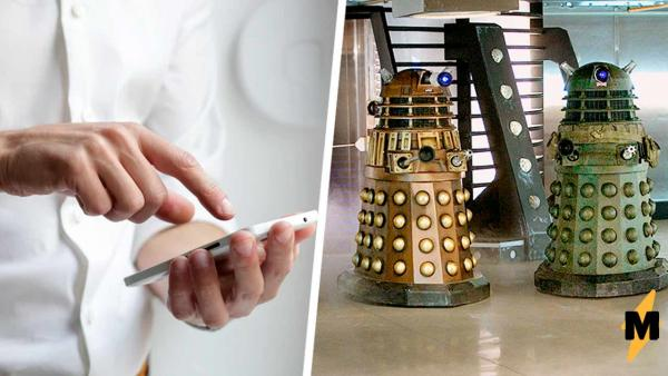 """Юзать телефон на ходу - легко, решил студент и создал гаджет """"Третий глаз"""". И фаны """"Доктора Кто"""" уже здесь"""