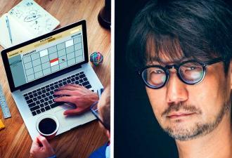 Хидео Кодзима показал, как выглядит, когда полон энергии, и это мем. В нём узнает себя каждый, кто не выспался