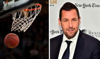 Адам Сэндлер зарубился в баскетбол, но фанам не даёт покоя его наряд. Полиция моды, алло, для вас есть дело