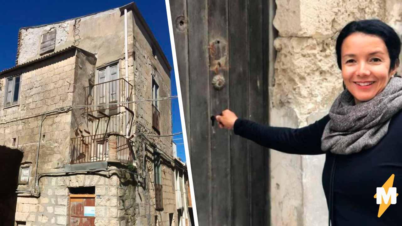 Бизнесвумен купила тот самый дом в Италии за 1. Через два года она рассказала, сколько он стоил на самом деле