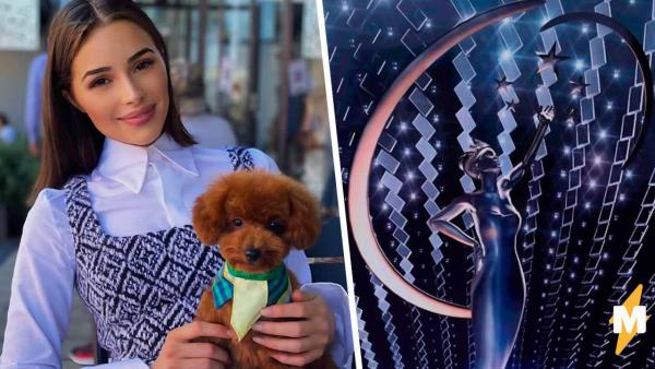 """Ведущая конкурса """"Мисс Вселенная"""" Оливия Калпо из прямого эфира попала в мемы. Ведь поведение"""