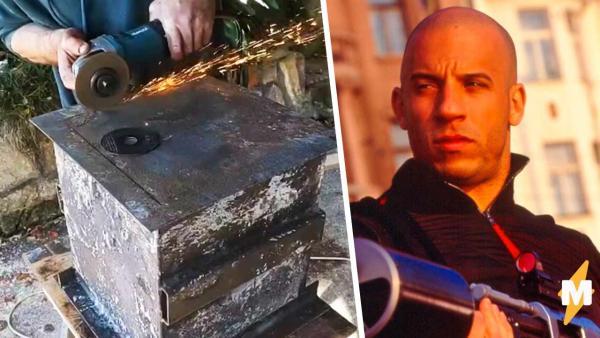 Мужчина нашёл сейф и пять лет гадал, что внутри, зря. Вместо сокровища его ждал неловкий сюрприз от Вин Дизеля