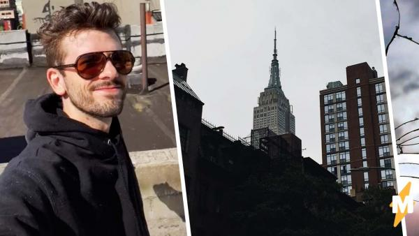 """Блогер переехал в Нью-Йорк, а попал в """"Пункт назначения"""". С травмы руки игра на выживание только началась"""