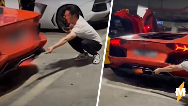 Друзья решили пожарить мясо на Lamborghini, но что могло пойти не так? Ответ - на видео с ароматом дымка