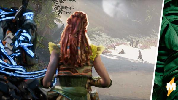 Новый геймплей Horizon Forbidden West заставил фанов рыдать. Ведь такие щёки Элой могла наесть только у бабули