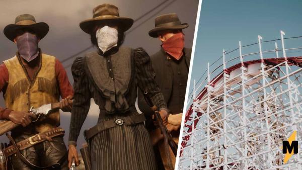 Фан Red Dead Online нашёл в игре парк развлечений. Аттракцион там один, но он никого не оставит равнодушными