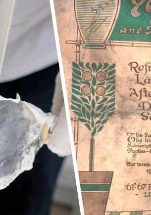 Рабочие нашли в тайнике меню 1913 года и удивились. Кто знал, что вкусы предков так отличались от современных