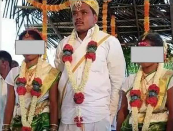 Сестрам нечего было делить и они назначили свадьбу на один день. Помимо общей даты, у них теперь муж на двоих