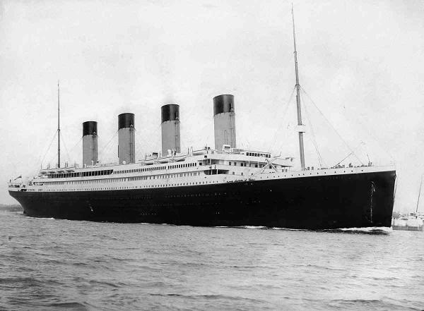 """Учёные бьются над загадочным посланием с """"Титаника""""."""