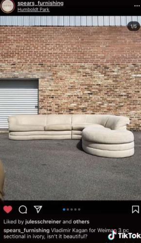 Хозяйка была рада, продав диван с барахолки, пока не узнала его цену. Так секонд ещё не ранил сердца клиентов