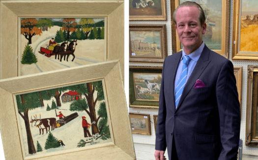 Cемья считала, что нашла на чердаке детские рисунки, а зря. Узнав кто их нарисовал, они побежали на аукцион