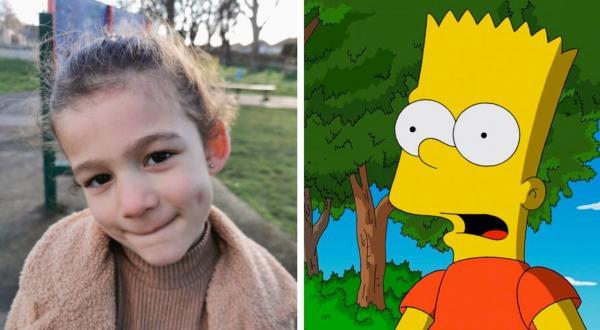 Мама оставила дочь без присмотра и пожалела. Теперь у женщины нет автозагара, но есть личный Барт Симпсон