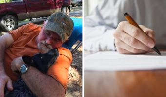 Охотник нашёл в лесу записку и отложил ружьё. Послание сразило его самого — пришлось срочно искать автора